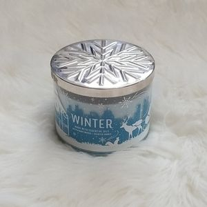 New! Bath & Body Works Winter 3 Wick Candle